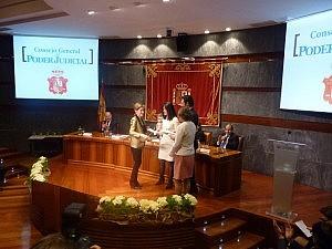 La presidenta de la Abogacia entrega Premio