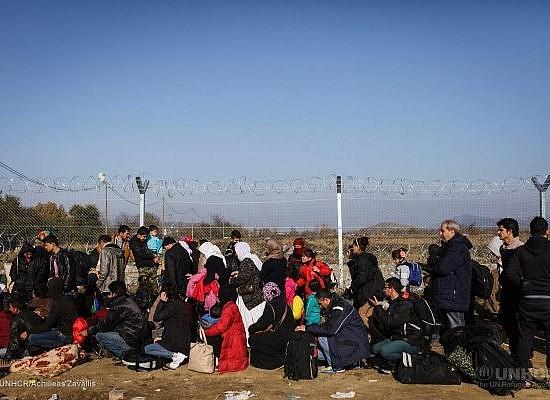 Refugiados frontera Grecia