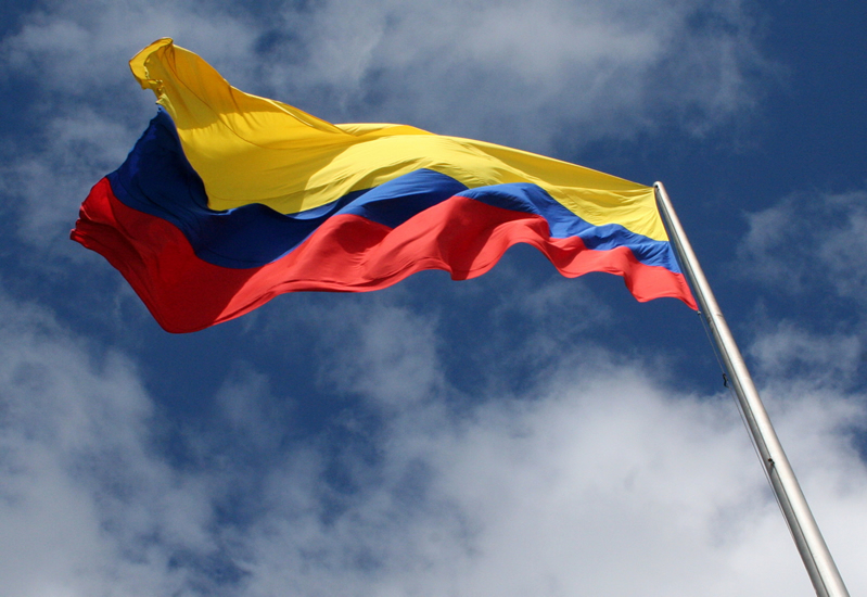 fotos bandera de colombia:
