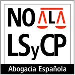 Logo no a la LSyCP