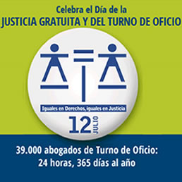 Legal Aid Day Is held each 12 July