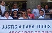 Los Colegios de Madrid, Málaga y Granada acuerdan paros en el Servicio de Asistencia Letrada en protesta por el proyecto de Ley de Justicia Gratuita