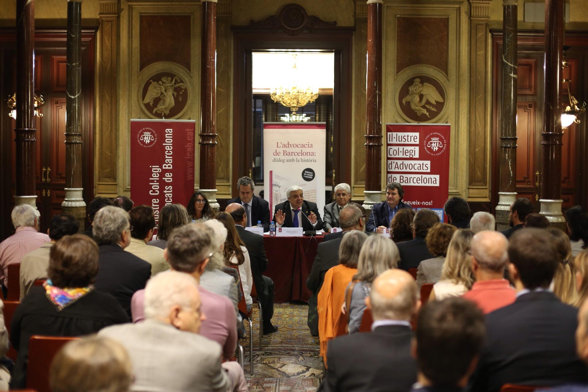 El colegio de abogados de barcelona presenta la obra la - Colegio notarios de barcelona ...