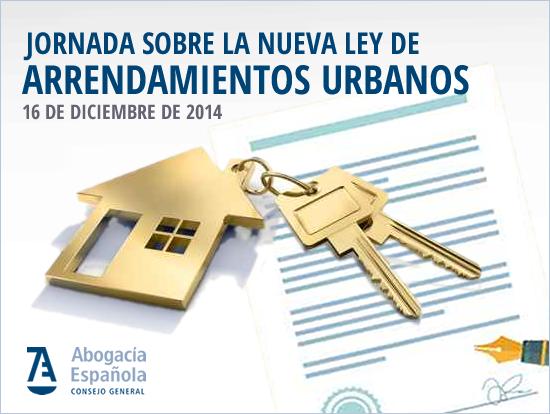 Jornada nueva ley de arrendamientos urbanos