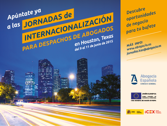 Jornada Internacionalizacion ICEX CGAE Houston