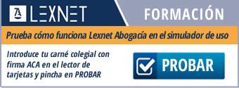 lexnet abogacia formacion