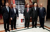 Presentación del libro 'Historia de la Abogacía Española' en la Real Academia Española