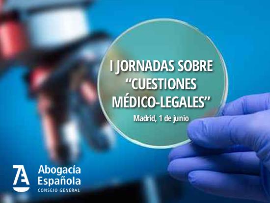 jornada cuestiones medico legales