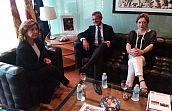 Bonmatí y Llombart analizan en Valencia la mejora de los Juzgados exclusivos de Violencia sobre la Mujer