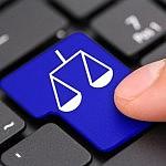 Logo Justicia teclado