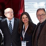 Carlos Carnicer, Erika Torregrossa y Carles McCragh