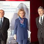 Carlos Carnicer, Soledad Becerril y Fernando Grande-Marlaska