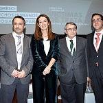 José Ángel González, Rocío Mora, Joaquín Sánchez-Covisa y Mariano Calleja