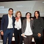 Nicolás Castellano, Viviana Waisman, Marta González y Helena Maleno