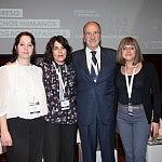 Nicoleta Ionescu, Carmen Miguel, Luis Delgado de Molina y Ana María Estévez