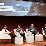 Nicoleta Ionescu, Carmen Miguel, Luis Delgado de Molina y Ana María Estévez (2)