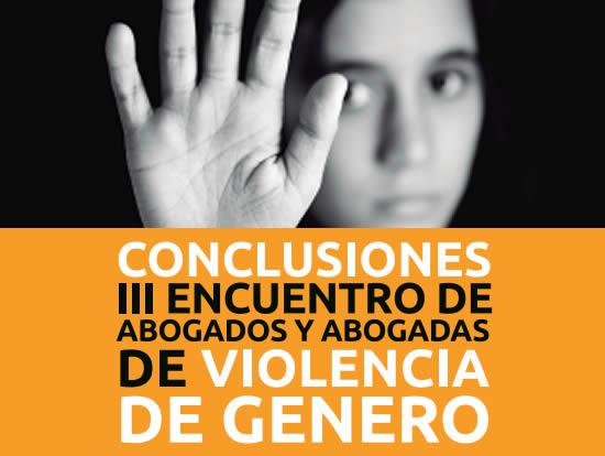 III encuentro violencia de Género
