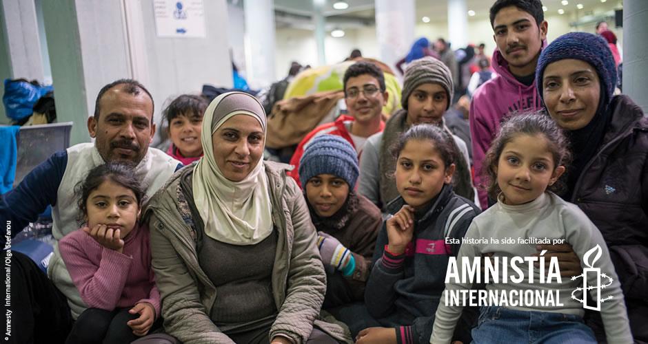Exposición 11 vidas 11 maletas - Zeinab ©Amnesty Internacional/Olga Stefanou