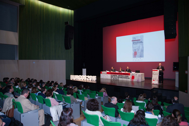 Inaugugación Congreso Extranjería Burgos