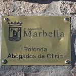 Rotonda Abogado de Oficio Marbella