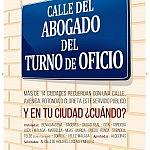 cartel calle AF2