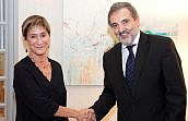 Los presidentes de la Abogacía y de Telefónica España firman el convenio para el nuevo servicio de correo electrónico de los abogados