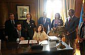 El Colegio de Abogados de Oviedo y la Fiscalía Superior del Principado firman un Protocolo de actuación para juicios de conformidad