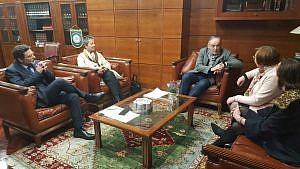 Reunión Miguel Lorenzo - Colegio A Coruña 2