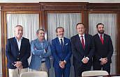 El decano del Colegio de Abogados, Francisco Javier Lara, renueva como presidente de Unión Profesional Málaga