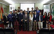 La Abogacía Joven de Granada celebra la Fiesta de la Primavera con los premios 'Vino y Vinagre'