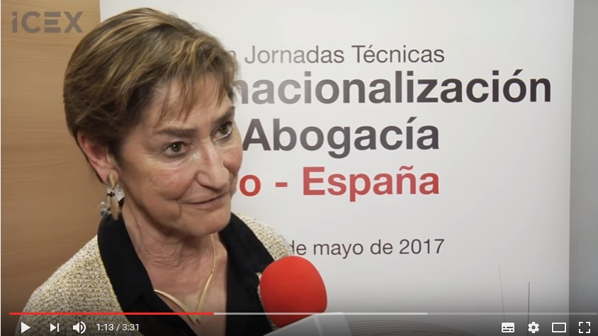 JORNADAS INTERNACIONALIZACION ABOGACIA VICTORIA ORTEGA