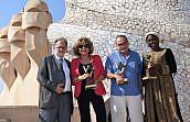 Las abogadas Magda Oranich, Hauwa Ibrahim y el padre Manel reciben los Premios 'Valors' 2017 del Consell de l'Advocacia Catalana