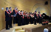 Aplauso unánime del público al primer concierto de verano que ofrece el coro del Colegio de Baleares