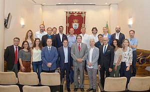 Letrados Italianos visitan Colegio de Sevilla