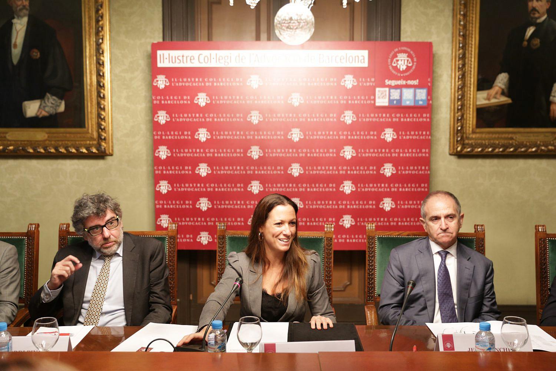 La junta del colegio de barcelona cumple las principales - Colegio administradores barcelona ...