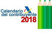 Calendario 2018 para cumplir, cada vez más por Internet, las principales obligaciones fiscales por abogados