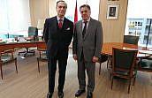 José María Alonso traslada al presidente de la AP de Madrid las propuestas de la Junta de Gobierno para mejorar el ejercicio del derecho de defensa