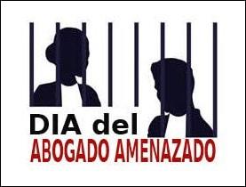 """Logo """"Día del Abogado Amenazado"""""""
