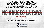 El Congreso de Derechos Humanos de la Abogacía Española aborda este año los delitos de odio