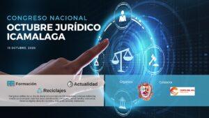El Colegio de Abogados de Málaga celebrará el 15 de octubre el congreso nacional online 'Octubre Jurídico ICAMALAGA'